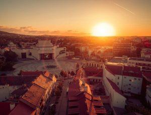 Fotografovanie dronom v Nitre