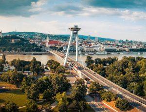 Fotografovanie dronom v Bratislave