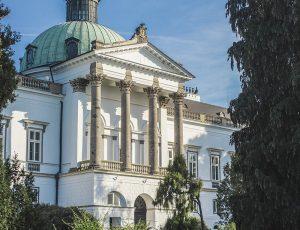 Fotografovanie zámku v Topoľčiankach