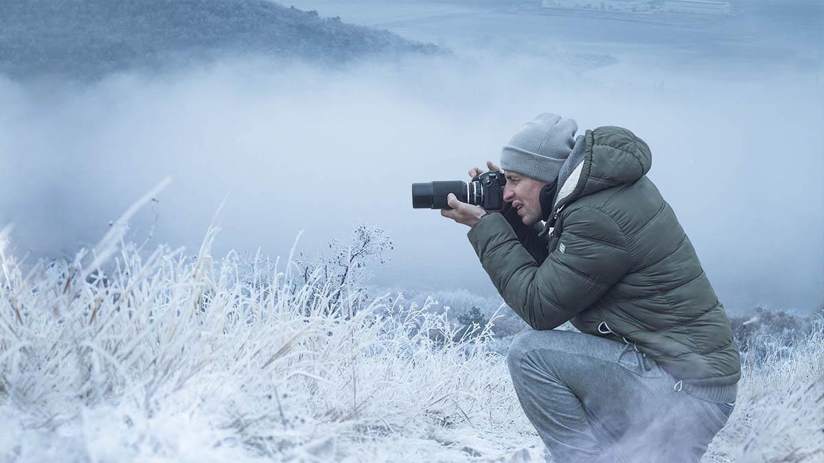 Fotografovanie portrétov a krajiny