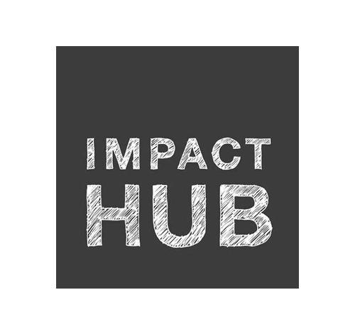 Logo spoločnosti Impact Hub