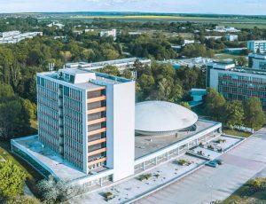 Letecká fotografia SPU Nitra