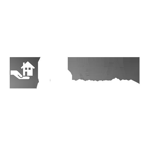 Logo realitnej kancelárie NL REAL