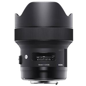 Prenájom objektívu sigma lens 14mm