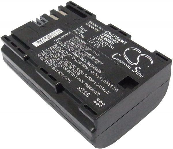 Prenájom batéria CANON LPE6MX